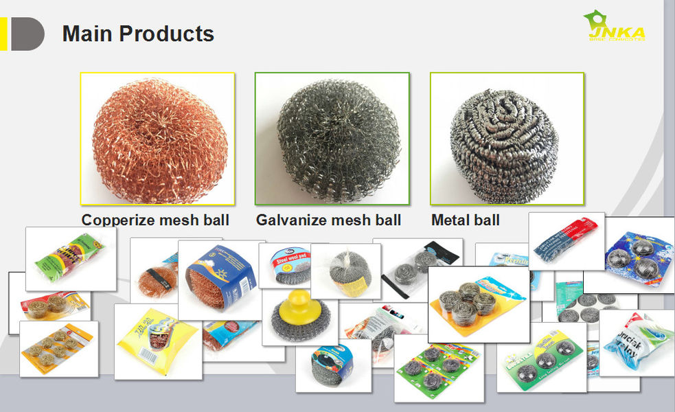 China best Stainless Steel Scouring Ball on sales