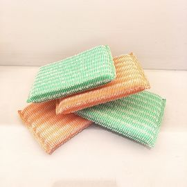 China Long Lifetime Non Scratch Scouring Pad No Peculiar Smell Harmless To Skin supplier