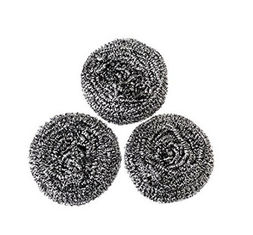 China Non Toxic Material Stainless Steel Scrubbers , Long Lifetime Scouring Pad Safe For Stainless Steel supplier