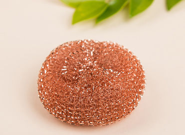 China 100 Percents Pure Copper Scrubbers Quick Delivery For Home And Kitchen supplier