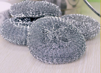 China Round Shape Galvanized Scourer Mesh Ball With Long Quality Guarantee Period supplier