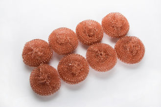 China Household Cleaning Copper Pot Scrubbers Soft Touching With Three Years Long Lifetime supplier
