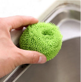 China Harmless To Skin Polyester Fiber Scourer Effective To Clean Away The Stubborn Stains supplier