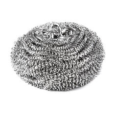China AISI 410 / 430 Stainless Steel Scouring Ball Cleaning Scourer Soft For Hand supplier