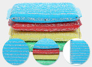 Sheet Shape Heavy Duty Scouring Pads , Anti Mildew Non Scratch Scourer Pads