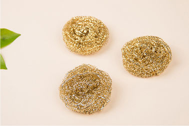 Household H65 Brass Scouring Pads Effective To Clean Away The Stubborn Stains