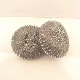 Long Lasting Stainless Steel Scouring Ball , Helical Structure Galvanized Steel Scourer