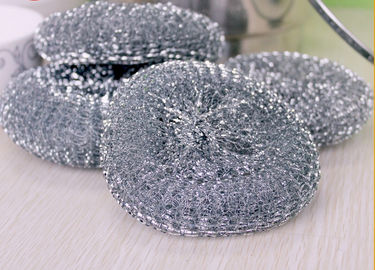 Round Shape Galvanized Scourer Mesh Ball With Long Quality Guarantee Period