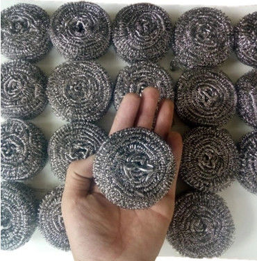 Eco Friendly Secure Material Metal Scouring Ball With Strong Corrosion Resistance